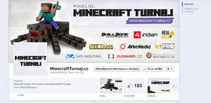 MinecraftTurnaj.cz - FB page by Ingnition