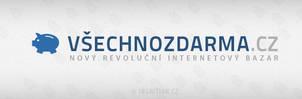 Simple bazaar logo - vsechnozdarma.cz by Ingnition