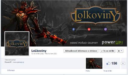 LoLkoviny - FB page by Ingnition