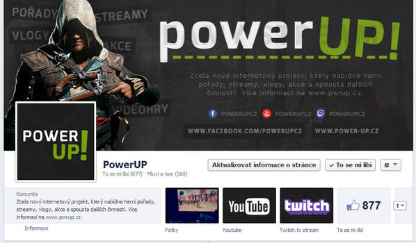 PowerUP! - FB page by Ingnition