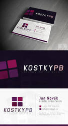 KOSTKY - Vizitky / Business card by Ingnition