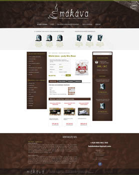 MAKAVA.CZ webdesign eshop by Ingnition