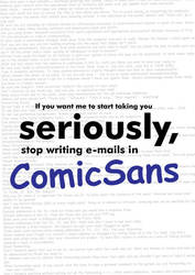 comic sans by fana19