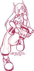 Sketch - Curly Brace by kevinxnelms