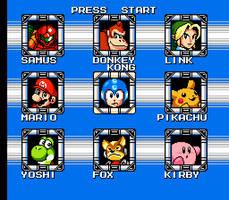 Super Smash Man by kevinxnelms