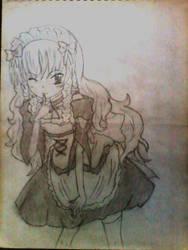 aoi hyoudou by RondineYamamoto