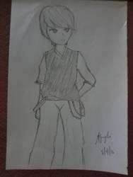 random character #1 by RondineYamamoto