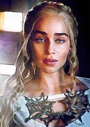 Daenerys Targaryen by jasmine2792