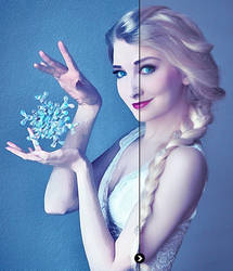 Queen Elsa | Photo To Watercolour Painting by jasmine2792