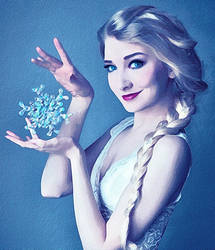 Queen Elsa by jasmine2792