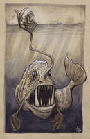 Sea Monster by Shadowjoe