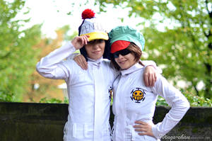 Penguin and Shachi | I by Wings-chan