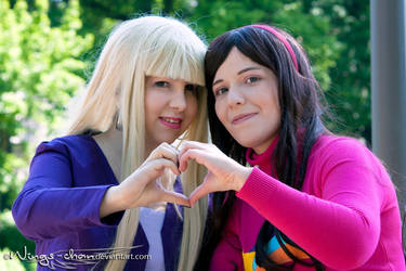 Gravity Falls | Mabel and Pacifica | I by Wings-chan