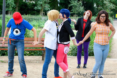 Miraculous Ladybug   Group   I by Wings-chan