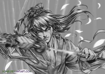 Samurai X by xong