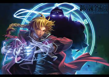 Fullmetal Alchemist by xong