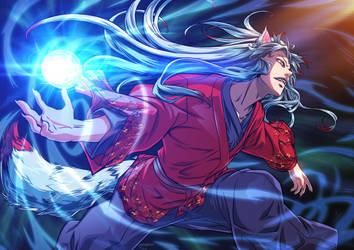 Yukio OC comission by xong