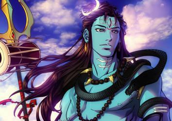 Shiva by xong