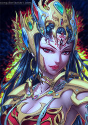 Devi Durga by xong