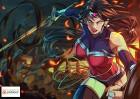 Wonderwoman by xong