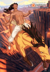 Spirit stallion of the cimarron by xong