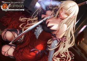 kiss shot acerola orion heart under blade by xong