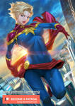 Captain Marvel by xong