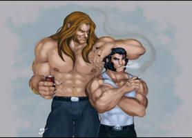Victor and Logan by jinsonlygurl