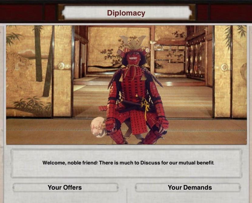 Live Action Shogun 2 Diplomacy by Yari-Ashigaru