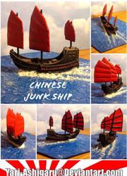 Chinese Junk Ship by Yari-Ashigaru