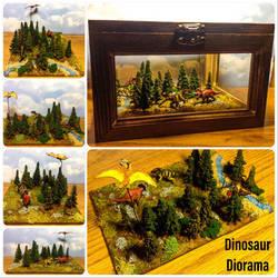 Dinosaur Diorama by Yari-Ashigaru
