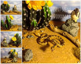 Desert Scene Diorama by Yari-Ashigaru