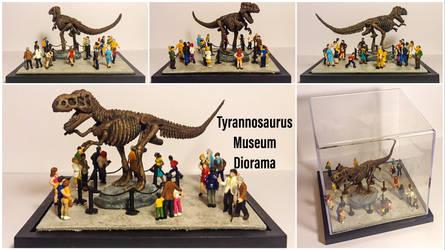 Tyrannosaurus Museum Diorama by Yari-Ashigaru