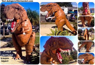 T-Rex Costume by Yari-Ashigaru