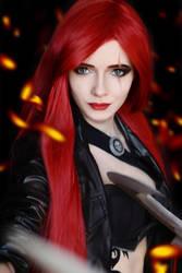 Katarina - League of Legends by IraNyaaasha