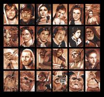 Topps Star Wars GALACTIC FILES Batch1 by MJasonReed