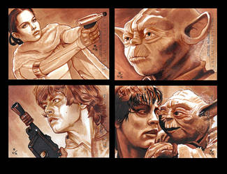 Topps Star Wars GALACTIC FILES Batch 2 by MJasonReed