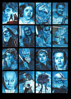 Topps Star Wars GALACTIC FILES Batch 3 by MJasonReed