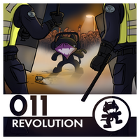 Monstercat Album Cover 011: Revolution by petirep