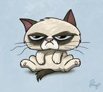 Grumpy Cat by petirep