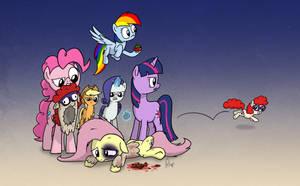 Twist is Worst Pony Day - 2013 by petirep