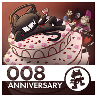 Unofficial Monstercat Album Cover 008: Anniversary by petirep