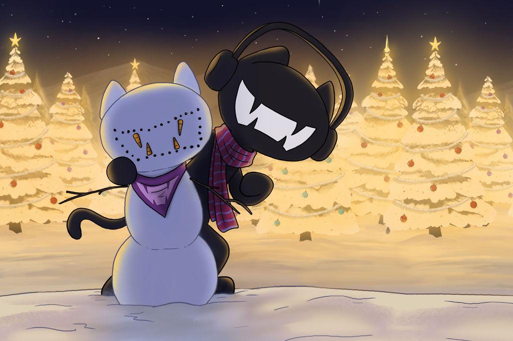 Monstercat Christmas 2013 by petirep