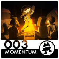 Monstercat Reimagined Album Art 003: Momentum by petirep