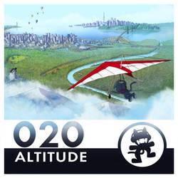 Monstercat Album Cover 020: Altitude by petirep