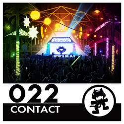 Monstercat Album Cover 022: Contact by petirep