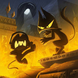 Monstercat Album Cover 026: Resistance by petirep