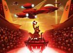 Monstercat Album Cover 028: Uproar by petirep