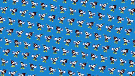 Funky Panda YouTube Art - December 2017 by petirep