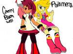 Cherry and Philomena by AlphaBeastSigma